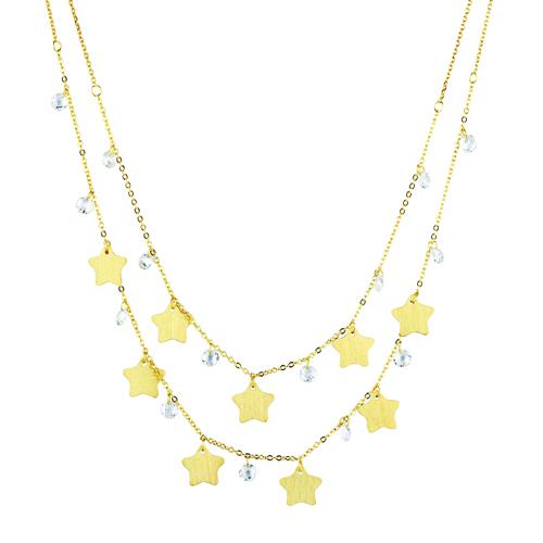 Collana con stelle essential